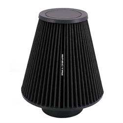 Spectre HPR9611K hpR Air Filter, Black, 9.5in Tall, Tapered Conical