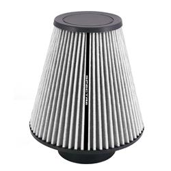 Spectre HPR9611W hpR Air Filter, White, 9.5in Tall, Tapered Conical