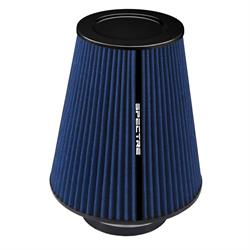 Spectre HPR9612B hpR Air Filter, Blue, 10.25in Tall, Tapered Conical