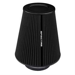 Spectre HPR9612K hpR Air Filter, Black, 10.25in Tall, Tapered Conical