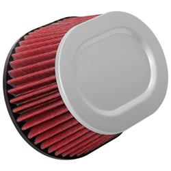 Spectre HPR9616 hpR Air Filter, Red, 4.219in Tall, Oval Tapered