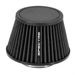 Spectre HPR9618K Conical Filter, Black, 5.219in Tall, Round Tapered