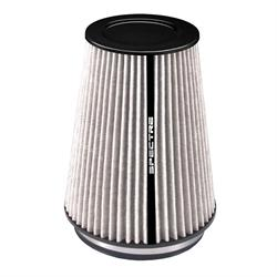 Spectre HPR9881W hpR Air Filter, White, 10.25in Tall, Tapered Conical