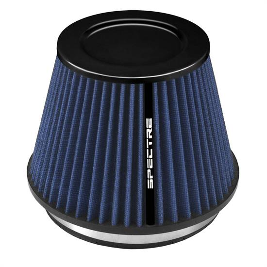 Spectre HPR9886B hpR Air Filter, Blue, 6.219in Tall, Tapered Conical