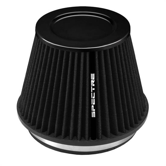 Spectre HPR9886K hpR Air Filter, Black, 6.219in Tall, Tapered Conical
