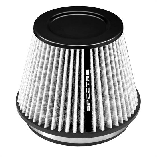 Spectre HPR9886W hpR Air Filter, White, 6.219in Tall, Tapered Conical