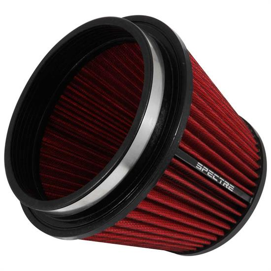 Spectre HPR9886 hpR Air Filter, Red, 6.219in Tall, Tapered Conical