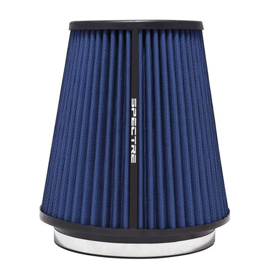 Spectre HPR9891B hpR Air Filter, Blue, 8.5in Tall, Tapered Conical