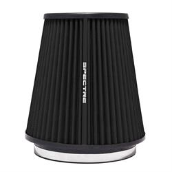 Spectre HPR9891K hpR Air Filter, Black, 8.5in Tall, Tapered Conical