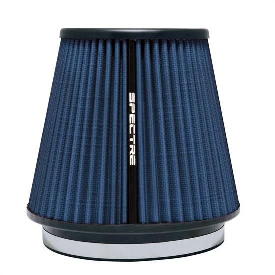 Spectre HPR9892B Conical Filter, Blue, 7in Tall, Tapered Conical
