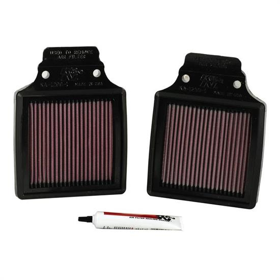 K&N KA-1299-1 Powersports Air Filter, Kawasaki 1200