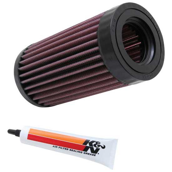 K&N KA-6201 Powersports Air Filter, Kawasaki 617-953