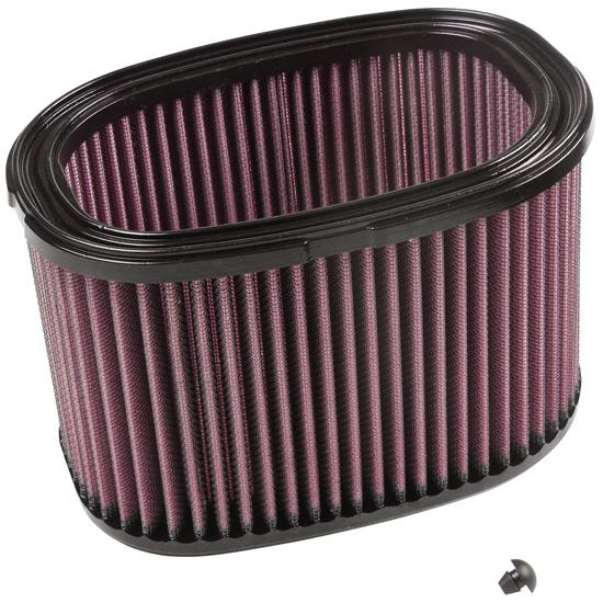 K&N KA-7408 Powersports Air Filter, Kawasaki 749