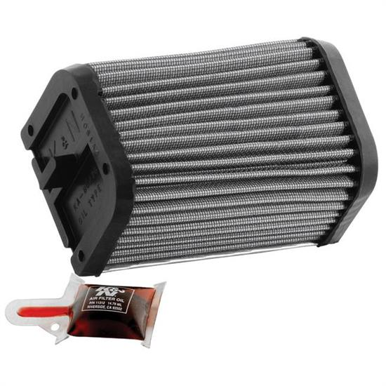 K&N KA-8076 Powersports Air Filter, Kawasaki 900