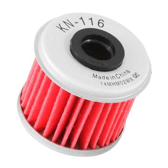 K&N KN-116 Powersports Oil Filter, Honda 150-450, Husqvarna 249-310