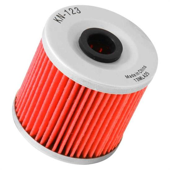 K&N KN-123 Powersports Oil Filter, Kawasaki 200-652
