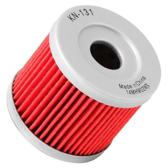 K&N KN-131 Powersports Oil Filter, Hyosung 125-250, Suzuki 90-9.9HP