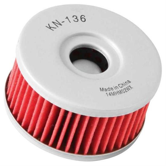 K&N KN-136 Powersports Oil Filter, Beta 350, Suzuki 125-400