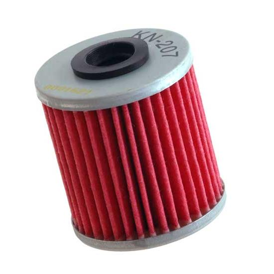 K&N KN-207 Powersports Oil Filter, Beta 250-300, Kawasaki 249-449