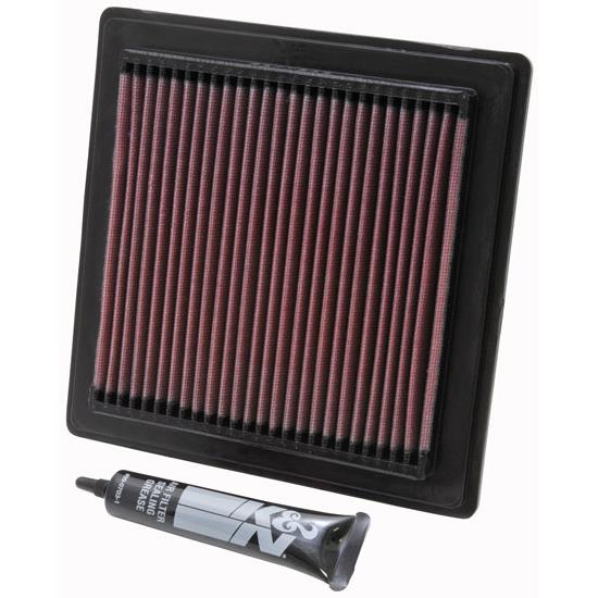 K&N PL-5003 Powersports Air Filter, Polaris 496-500
