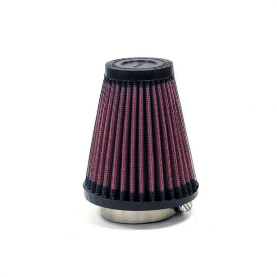 K&N R-1080 Performance Air Filters, 4in Tall, Round Tapered