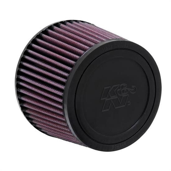 K&N R-1380 Performance Air Filters, 4in Tall, Round Tapered