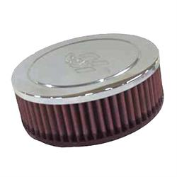 K&N RA-045V Performance Air Filters, 2in Tall, Round