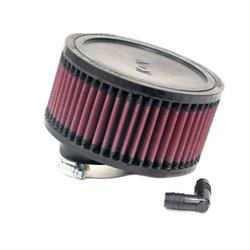 K&N RA-0460 Performance Air Filters, 3in Tall, Round