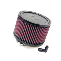 K&N RA-0470 Performance Air Filters, 4in Tall, Round