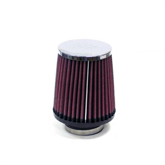 K&N RA-050V Performance Air Filters, 4in Tall, Round Tapered