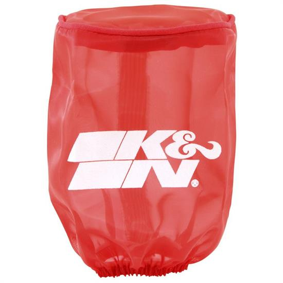 K&N RA-0510DR  Air Filter Wrap, 5in Tall, Red