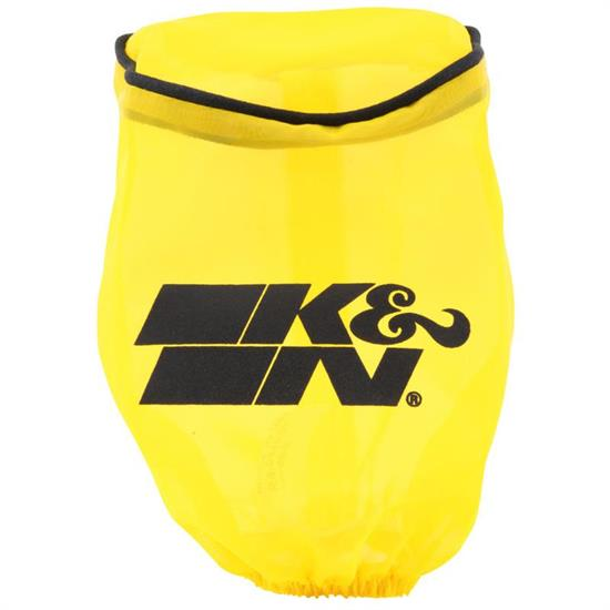 K&N RA-0510DY  Air Filter Wrap, 5in Tall, Yellow