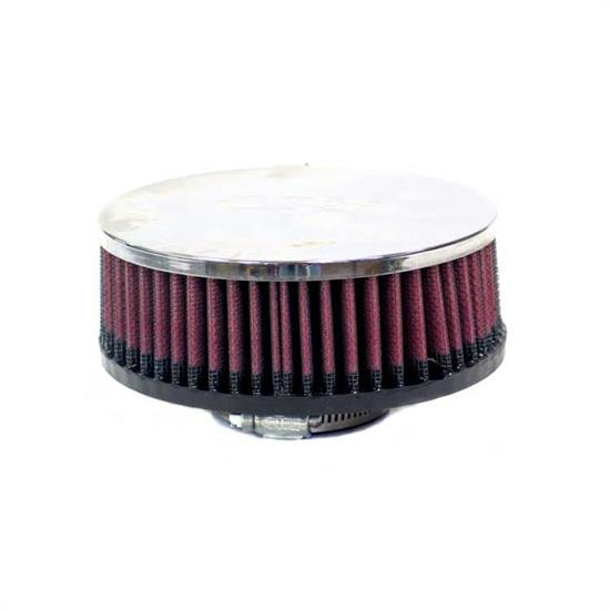 K&N RA-055V Performance Air Filters, 2in Tall, Round