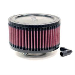 K&N RA-0560 Performance Air Filters, 3in Tall, Round
