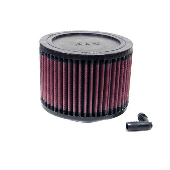 K&N RA-0570 Performance Air Filters, 4in Tall, Round