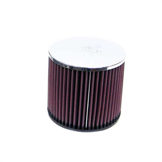 K&N RA-058V Performance Air Filters, 5in Tall, Round