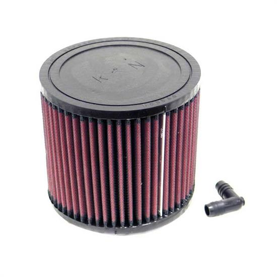 K&N RA-0650 Performance Air Filters, 5in Tall, Round