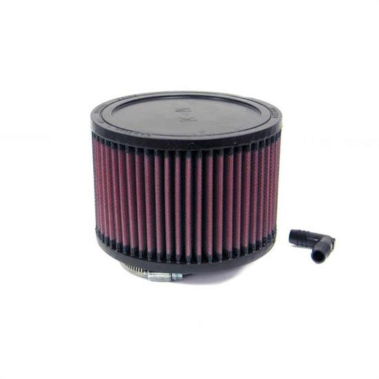 K&N RA-0680 Performance Air Filters, 4in Tall, Round