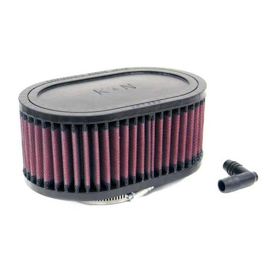 K&N RA-0770 Performance Air Filters, 3in Tall, Oval