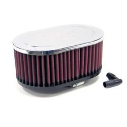 K&N RA-077V Performance Air Filters, 3in Tall, Oval