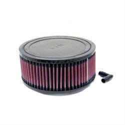 K&N RA-0950 Performance Air Filters, 3in Tall, Round