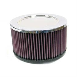 K&N RA-095V Performance Air Filters, 3in Tall, Round