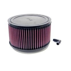 K&N RA-0960 Performance Air Filters, 4in Tall, Round
