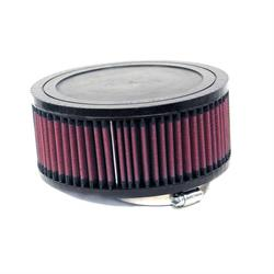 K&N RA-0980 Performance Air Filters, 3in Tall, Round