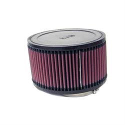 K&N RA-0990 Performance Air Filters, 4in Tall, Round