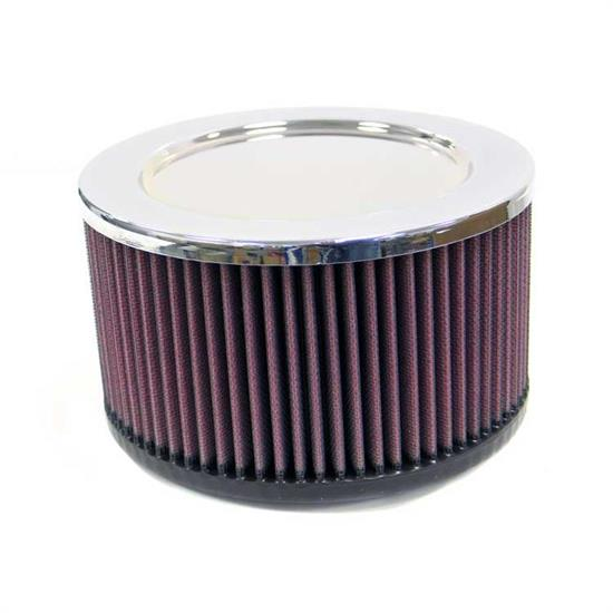 K&N RA-099V Performance Air Filters, 4in Tall, Round