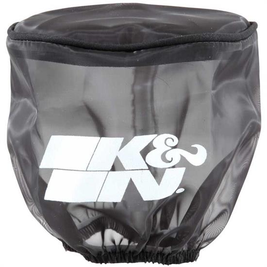 K&N RB-0900DK DryCharger Air Filter Wrap, 4in Tall, Black