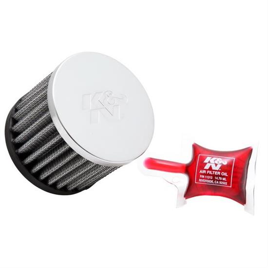 K&N RC-0160 Performance Air Filters, 2.5in Tall, Round