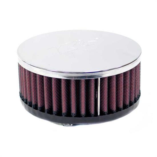 K&N RC-0370 Performance Air Filters, 2in Tall, Round
