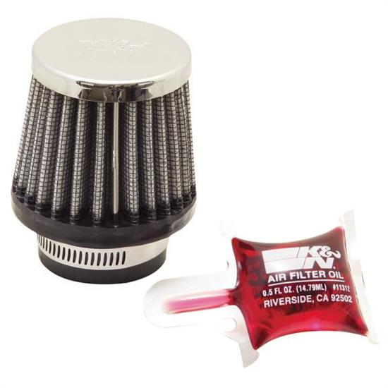 K&N RC-0790 Performance Air Filters, 2.25in Tall, Round Tapered